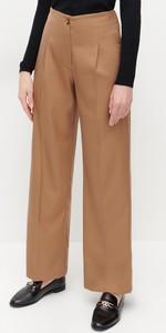 Brązowe spodnie Reserved w stylu retro
