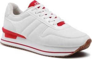 Buty sportowe S.Oliver Red Label z płaską podeszwą w sportowym stylu