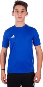 Koszulka dziecięca Adidas dla chłopców z tkaniny z krótkim rękawem