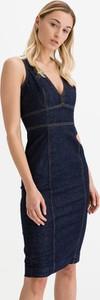 Sukienka Guess z bawełny