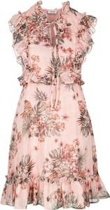 Różowa sukienka Liu-Jo mini w stylu casual