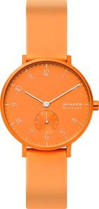 Zegarek SKAGEN - Aaren Kulor Neon SKW2821 Orange/Orange