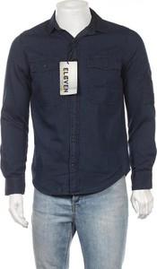 Koszula Eleven z długim rękawem z klasycznym kołnierzykiem w stylu casual