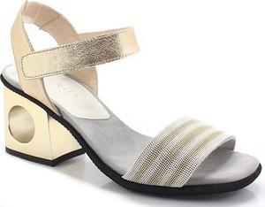 Złote sandały Hispanitas w stylu casual