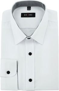21f3e3ce32b33 biała koszula z czarnymi guzikami męska - stylowo i modnie z Allani