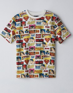 T-shirt Cropp z okrągłym dekoltem