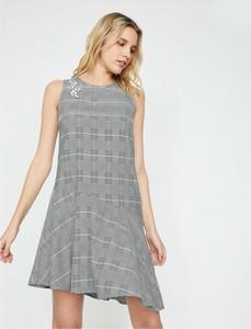 Sukienka Koton z okrągłym dekoltem mini