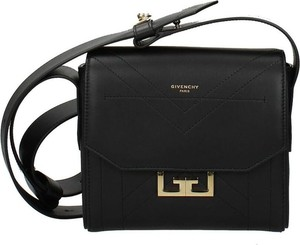 Czarna torebka Givenchy na ramię ze skóry