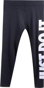 Czarne spodnie Nike w sportowym stylu