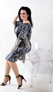 Sukienka Oscar Fashion hiszpanka