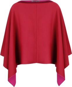 Czerwona bluzka Valentino w stylu casual