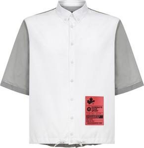 Koszula Dsquared2 z klasycznym kołnierzykiem z krótkim rękawem z bawełny