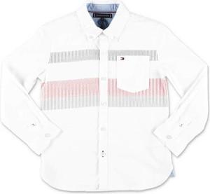 Koszula dziecięca Tommy Hilfiger z bawełny dla chłopców