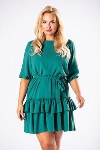 Zielona sukienka candivia.pl mini