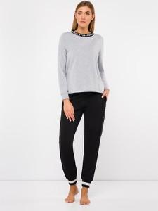 Bluzka DKNY z długim rękawem w stylu casual