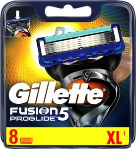 Gillette, Fusion ProGlide, wymienne ostrza do maszynki do golenia, 8 szt.
