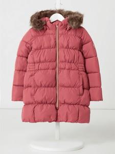 Różowa kurtka dziecięca Name it dla dziewczynek