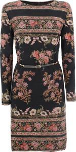 Sukienka Etro z okrągłym dekoltem mini w stylu casual