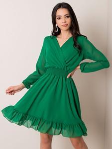 Zielona sukienka Sheandher.pl mini