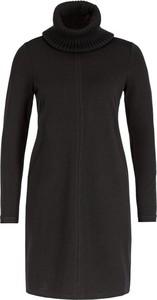 Czarna sukienka Marc O'Polo z golfem z długim rękawem mini
