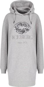 Sukienka Iceberg z długim rękawem