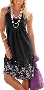 Czarna sukienka Sandbella w stylu boho
