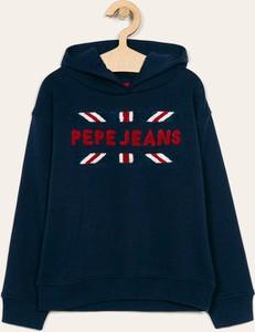 Granatowa bluza dziecięca Pepe Jeans