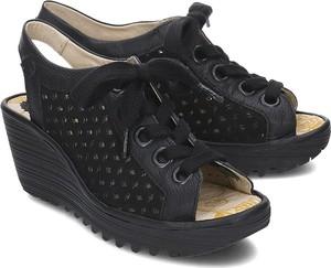 b1087331357e4 sandały damskie fly london - stylowo i modnie z Allani