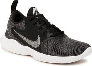 Czarne buty sportowe Nike sznurowane z płaską podeszwą flex