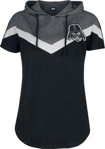 Czarny t-shirt Emp z bawełny