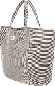 251a296ecd37c ... zamek tote bag print - czarny • Doskonale sprawdzi się jako pojemna torebka  damska ale również jako torba zakupowa lub na dokumenty. Torebka Roxy na ...