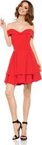 Czerwona sukienka Lemoniade hiszpanka