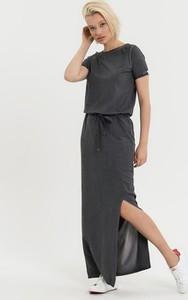 Sukienka Diverse oversize z krótkim rękawem