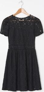 Sukienka House mini rozkloszowana z krótkim rękawem