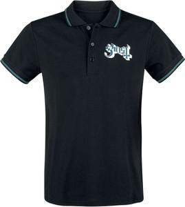 Koszulka polo Emp w stylu casual z krótkim rękawem z bawełny