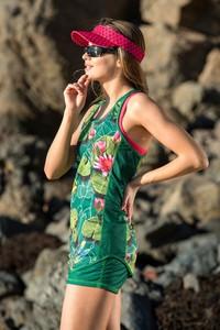 Zielone szorty Nessi Sportswear w stylu casual