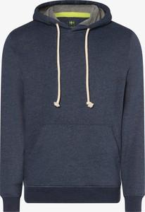 Granatowa bluza Nils Sundström z bawełny