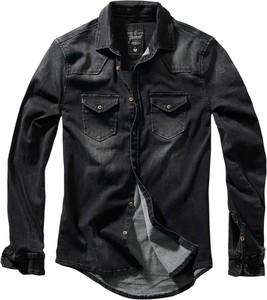 Czarna koszula Brandit w stylu casual
