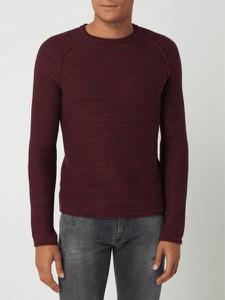Sweter Review w stylu casual z bawełny z okrągłym dekoltem