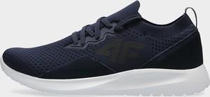 Buty sportowe 4F sznurowane z zamszu