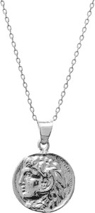 Ania Kruk Naszyjnik URBAN CHIC srebrny z monetą 1,4 cm