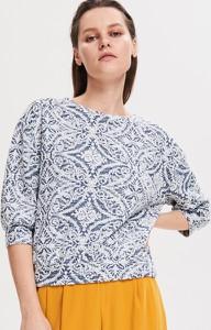 Bluzka Reserved w stylu casual z okrągłym dekoltem