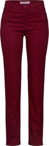 Czerwone spodnie Brax