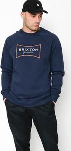 Niebieska bluza Brixton z bawełny