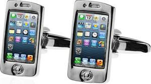 Em Men`s Accessories Spinki do mankietów tematyczne telefon iphone EM 68