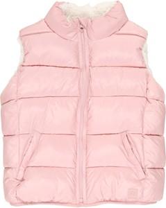 Różowa kamizelka dziecięca Gap dla dziewczynek