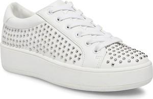 Sneakersy Steve Madden sznurowane z płaską podeszwą