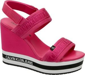 Sandały Calvin Klein