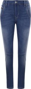 Jeansy Pepe Jeans w street stylu z dresówki