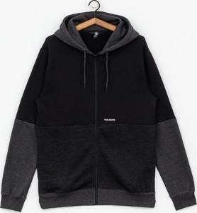 Czarna bluza Volcom z bawełny